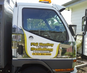 Look out for Phil's truck around Dunedin